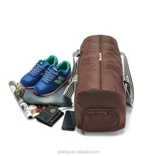 Custom personalized sports traveling bag with shoe compartment