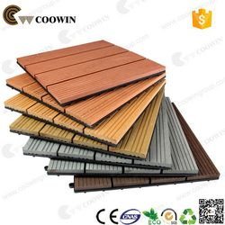 Alibaba china most popular high quality diy wpc decking tile