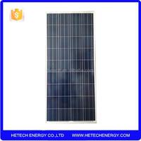 best price per watt solar panels 130wp polysilicon for sale