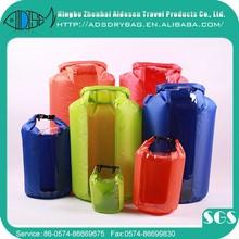 Pvc a prueba de agua drybag con correas para exterior camping y senderismo