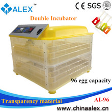 2014 Newest Weekly Top Hot Selling 96 chicken egg incubator