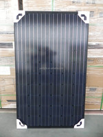 china wholesale pv solar panels 12V 250w mono black solar panel 250w mono module