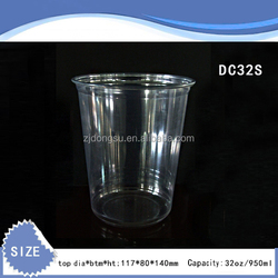 Plastic Salad Bowl with Dome Lid Take Away Food Boxes and Cups China Manufacturer Clear Deli Disposable Container