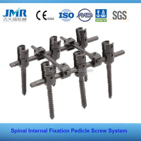 FDA Approved medical surgical titanium Spinal polyaxial Pedicle Screw