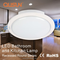 LED Bathroom and Kitchen Lamp 8W Round led recessed ceiling lighting