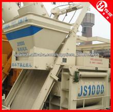 50-60m3/h Doble- mezclador concreto del eje js1000