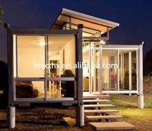 novel design,low cost high quality Prefab Shipping Container Home/prefabricated House For Shop