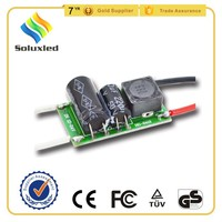 AC/DC12V Input Voltage Constant Current 300mA Led Driver 6-9*1W Isolated