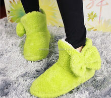 Young Girls Lovely Candy Colors Floor Socks Boots