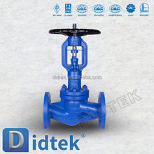 Didtek Straight Pattern Long Bellow Valve