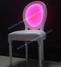 16 colors clear acrylic chair / white acrylic dining chair