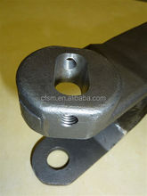 Steel investment casting pear knife hinge