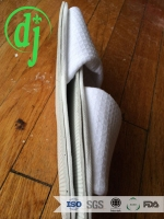 green velvet disposable best summer slippers for hotel /disposable shower shoes for hotel