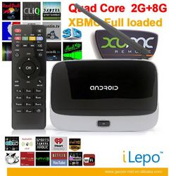 CS918 quad core android tv box, Rockchip rk3188 android smart tv box, CS918S android media player
