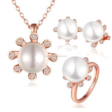 famous design for women water fresh pearl jewelry set GPS425-B