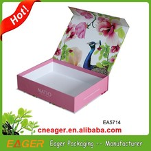 Customized cheap paper packaging box, gift packaging box