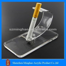 Factory lower price acrylic e cigarette display unit