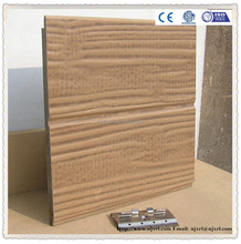 Timber grain wood fiber cement out siding