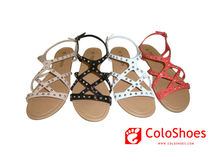 New model latest design women no heel sandals