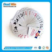 metal stainless steel playing cards printing