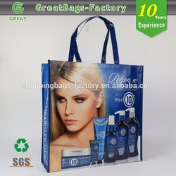 Eye-catching plastic grocery bag