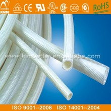Manufacture Silicone Rubber Glassfiber Insulating Sleeving tube