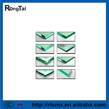 8-18mm thk tempered glass with good quality