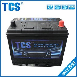 Electric professional quality 12v japanese car battery