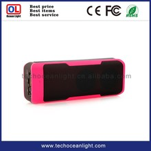 power bank tf card,usb, fm radio bluetooth mini speaker box