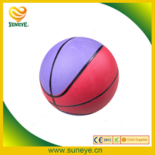 facilities equipment training colorful rubber basketball