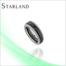 Canada moda oro venta al por mayor Ksa anillo del nuevo diseño de la joyería de plata estantes de la exhibición