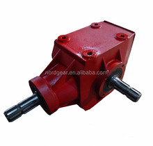 B2701-5 agricultural machine iron housing straight bevel gearbox
