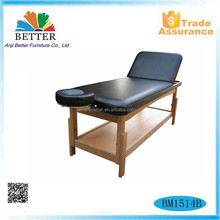 Better stability wood massage table,fixed massage table