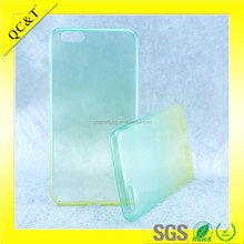 Shenzhen QC&T company TPU Cell Phone Case with Gradient color for iPhone 6