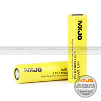 MXJO 30A IMR 18650 1600mAh 3.7v , high discharge rate battery cell
