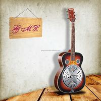 Polished Chromed Plated Brass Single Cone Resonator Guitar
