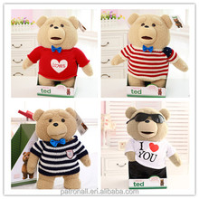 Stuffed Tiger Toy/Tiger Stuffed Animals/Plush Toy Tiger cotton bedding set with masha and bear
