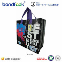 2015 New design reusable pp non woven gift shopping bag