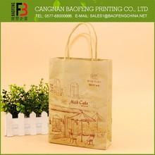 Alta calidad ampliamente uso de papel bolso de imágenes