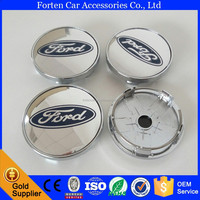 60MM Wheel Cover Centre Caps For Ford ABS Chrome Wheel Center Hub Caps