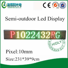P10 programmable semi-outdoor led panel display hd xxx moves