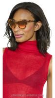 Brand Name Sunglasses Cat Eye Women Alloy Frame Eyewear Oculos De Sol Sunglasses Women