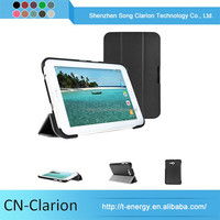 Tablet Pc Case China Waterproof Smart Case Leather Tablet Case For Samsung Galaxy Tab 3 Lite7 T110/T111