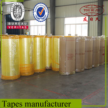 Water Based Acrylic Glue Bopp Packing Tape Jumbo Rolls with Factory Price