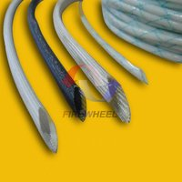 Ultra thin wall insulation fiberglass sleeves for wiring wire insulation sleeves