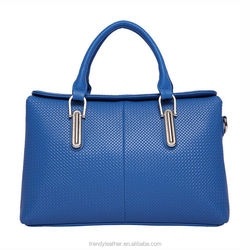 Newest pictures lady fashion handbag, pu leather bag wholesale 2015