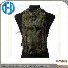 Army olive green military molle backpack