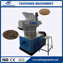 [TAICHANG]Brand Vertical Ring Die Wood Pellet Machine with Auto Lubrication System