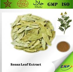 100% Natural Quality Senna Leaf Extract Powder Sennosides