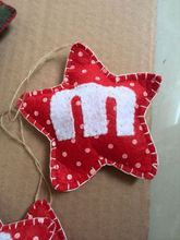 Delicate Red India Christmas Ornaments